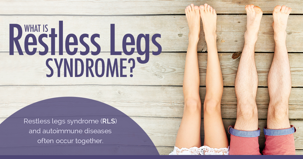 Restless Legs Syndrome and MS: New Life Outlook Multiple Sclerosis Infographic